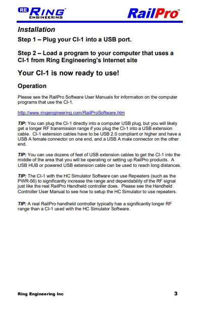 CI-1 User Manual Pg. 3