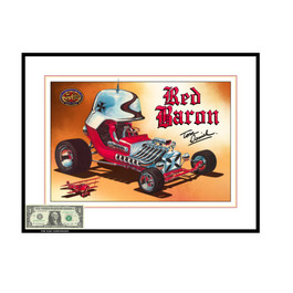 50th Anniversary Red Baron Print