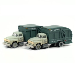 CMW '54 Garbage Trucks