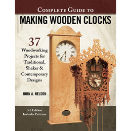 Guide to Making Wooden Clocks book