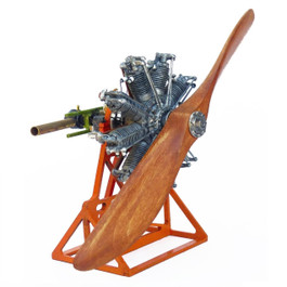 Model Airways Clerget 9B Engine
