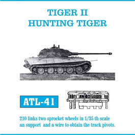 Tiger II Track Set