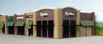 Modern Strip Mall Building Kit