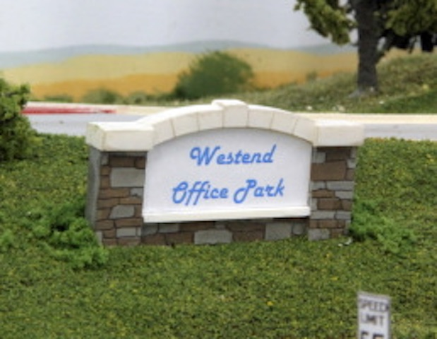 Summit Westend Office Park Sign