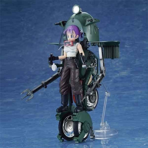 Bandai Figure-Rise Mechanics Doragon Ball Bulma/'s Variable No.19 Motorcycle Kit