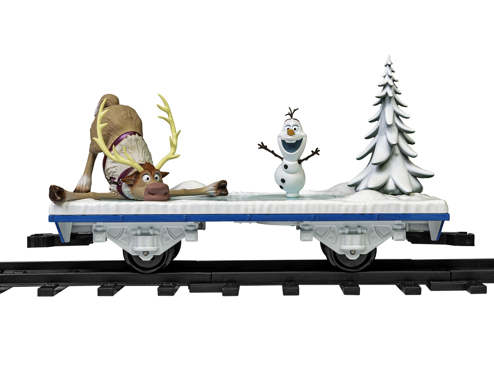 FROZEN Olaf Flat Car