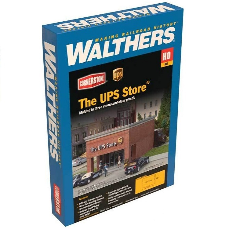 Walthers UPS Store® Box