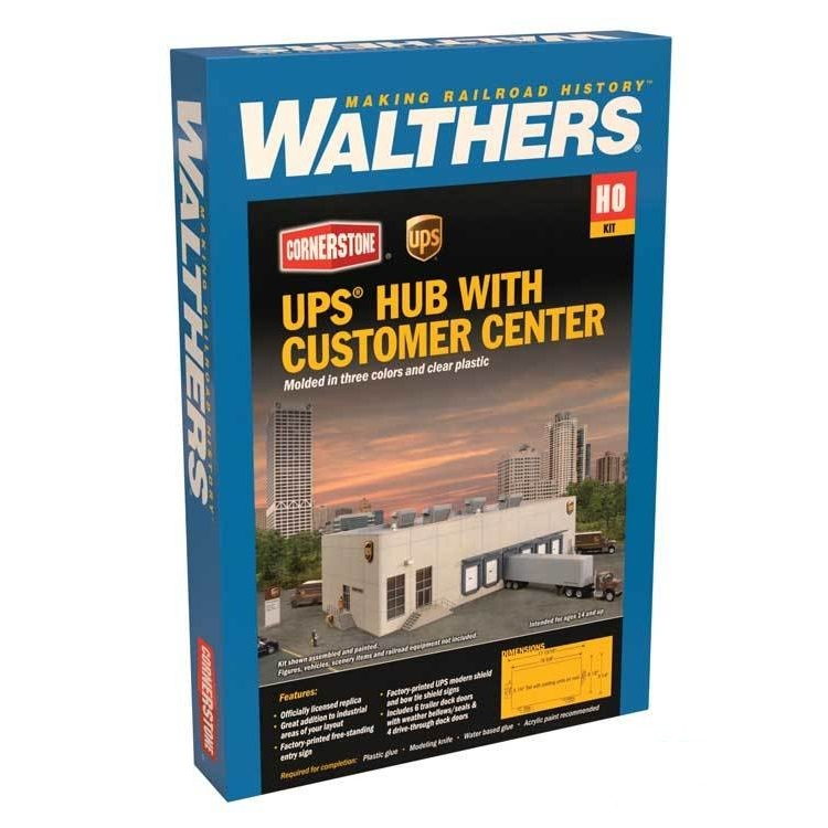 UPS® Hub w/Customer Center Box
