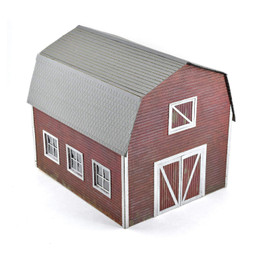 O Rural Tractor Shed with Hayloft