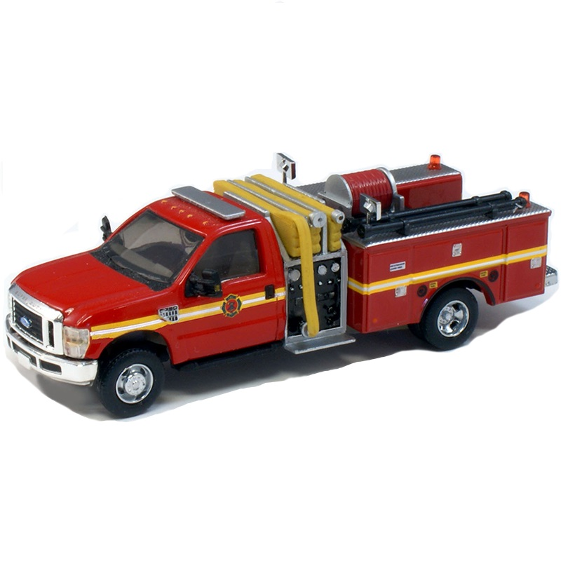 Ford® F550 Mini Pumper Fire Truck