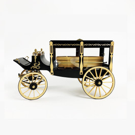 Model Trailways 1895 Hearse