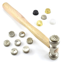 Texturing Hammer Set with 13 Heads