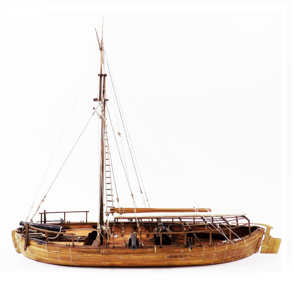 Model Shipways Gunboat Philadelphia