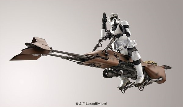 Star Wars Scout Trooper/Speeder