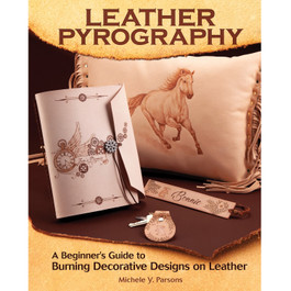 Leather Pyrography Book