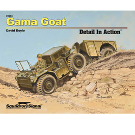 Gama Goat Detail In Action Book