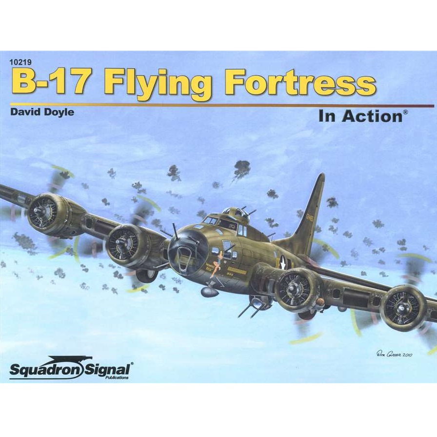 B-17 Flying Fortress In Action Book