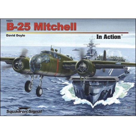 B-25 Mitchell In Action Book