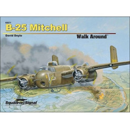 B-25 Mitchell Walk Around Book