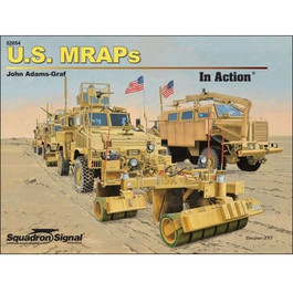 US MRAPs In Action Book