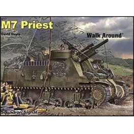 M7 Priest Walk Around Book, by Davi