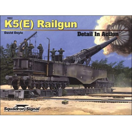 K5(E) Railgun Detail In Action Book