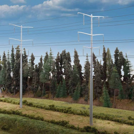 Modern High Voltage Towers