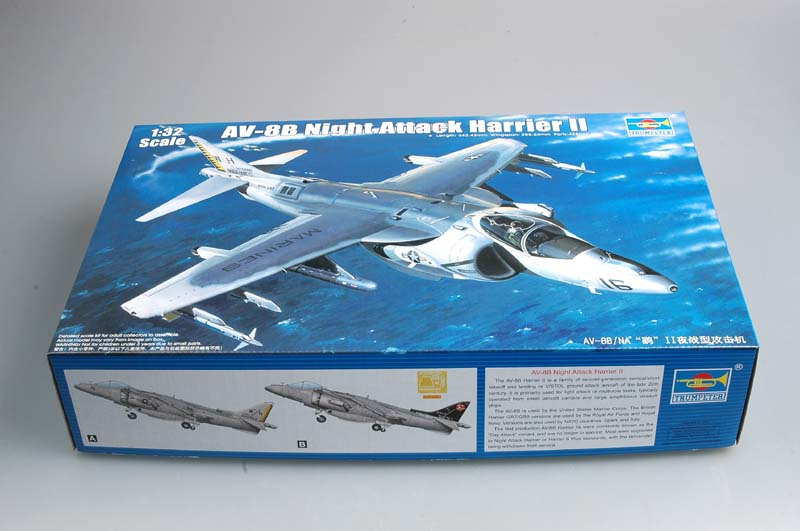 Trumpeter® AV-8B Harrier II Box