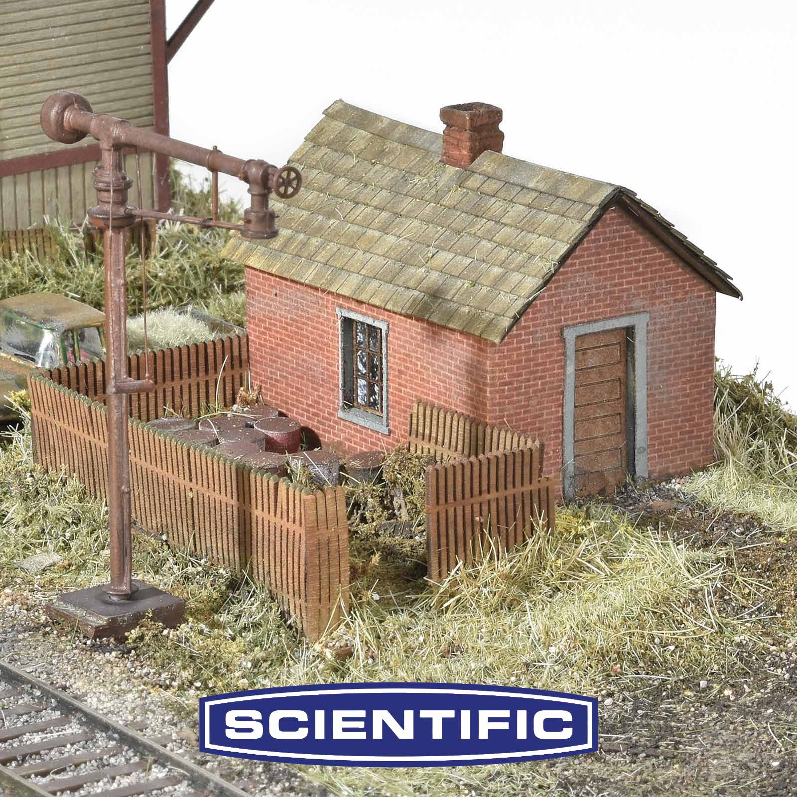 Standard Trackside Set, HO Scale
