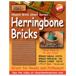 Chooch Herringbone Brick Pavers