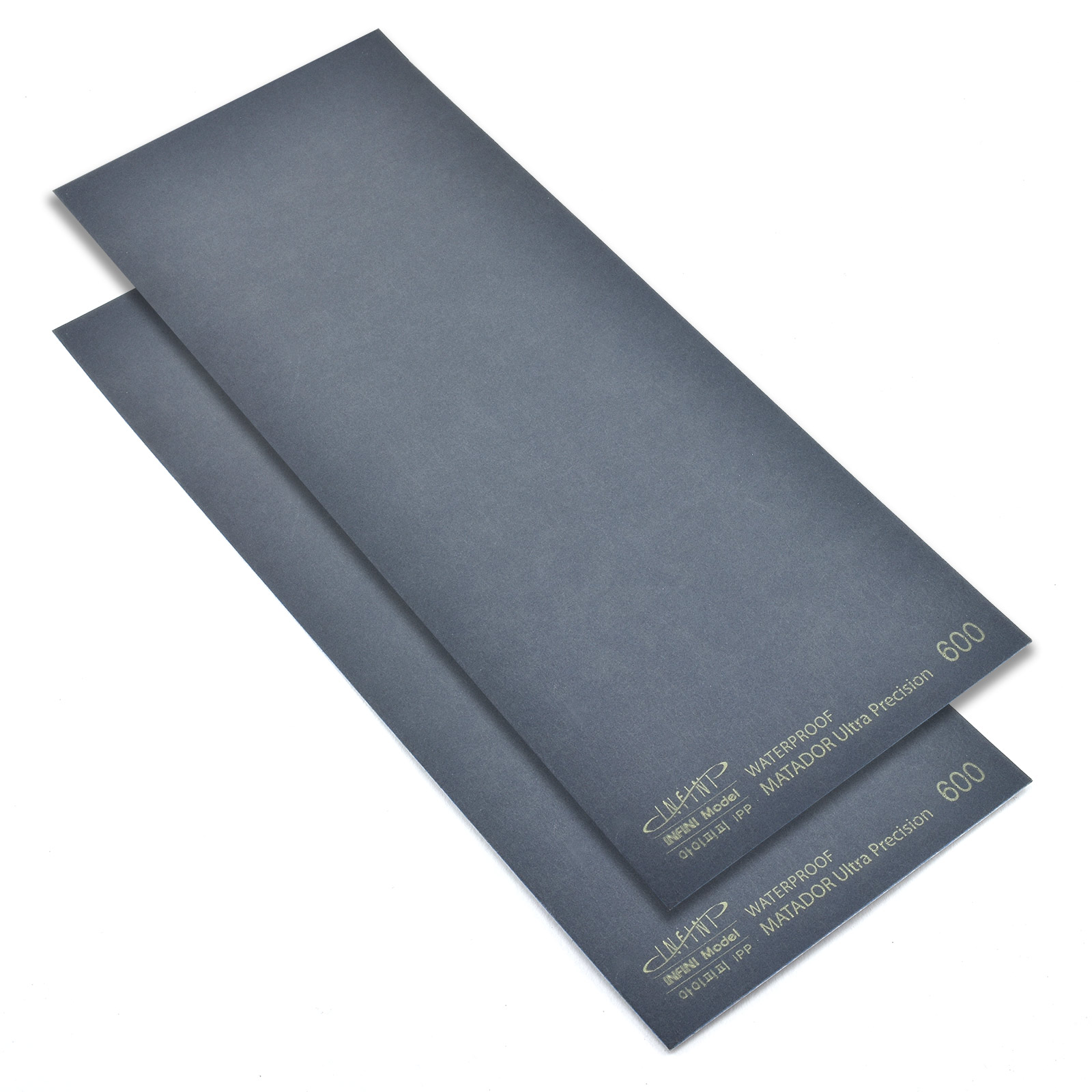 Sanding Sheet, 600 Grit, Pack of 2