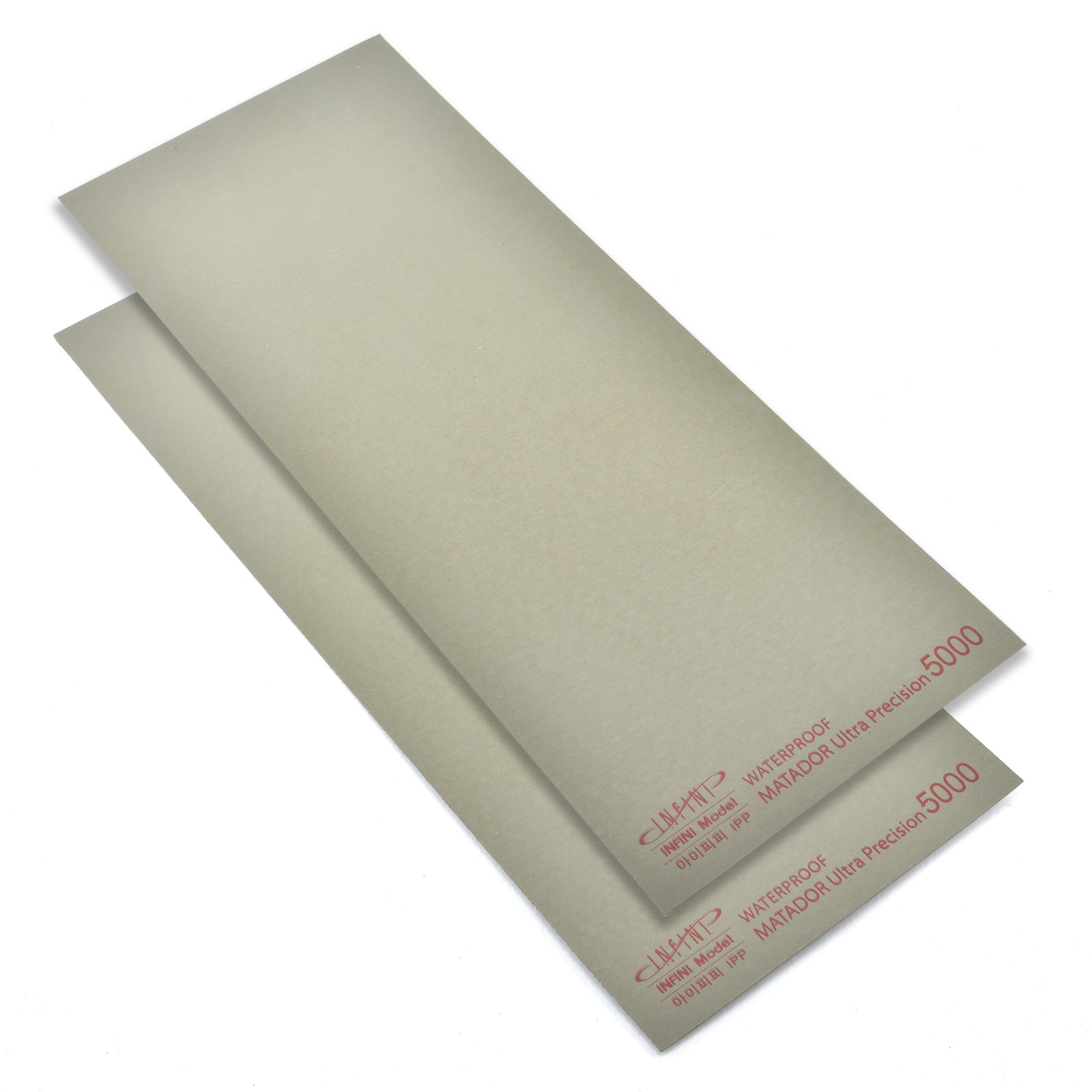 Sanding Sheet, 5000 Grit, Pack of 2