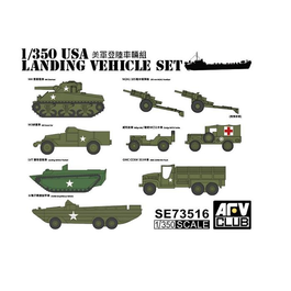 AFV 1/350 US Landing Vehicle Set