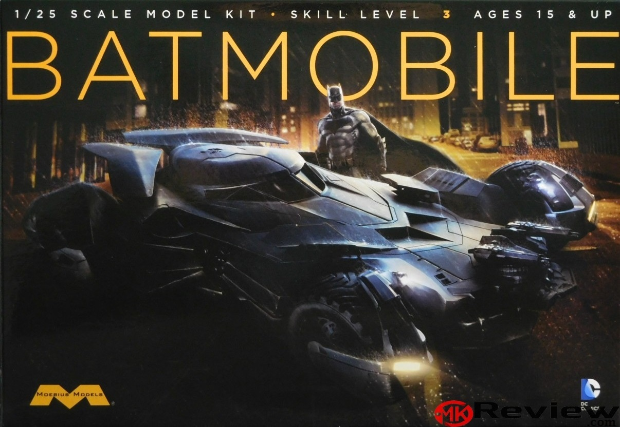 MOE-964 Dawn Of Justice Batmobile