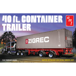 AMT 40' Semi Container Trailer