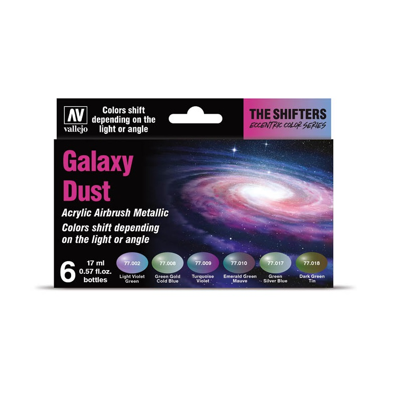 The Shifters Galaxy Dust