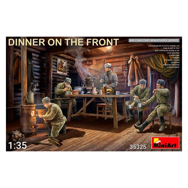 """Dinner on the Front"" by MiniArt"