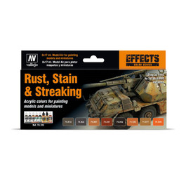 Vallejo Rust, Stain & Streaking (8)