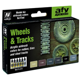 Acrylicos Vallejo Wheels & Tracks