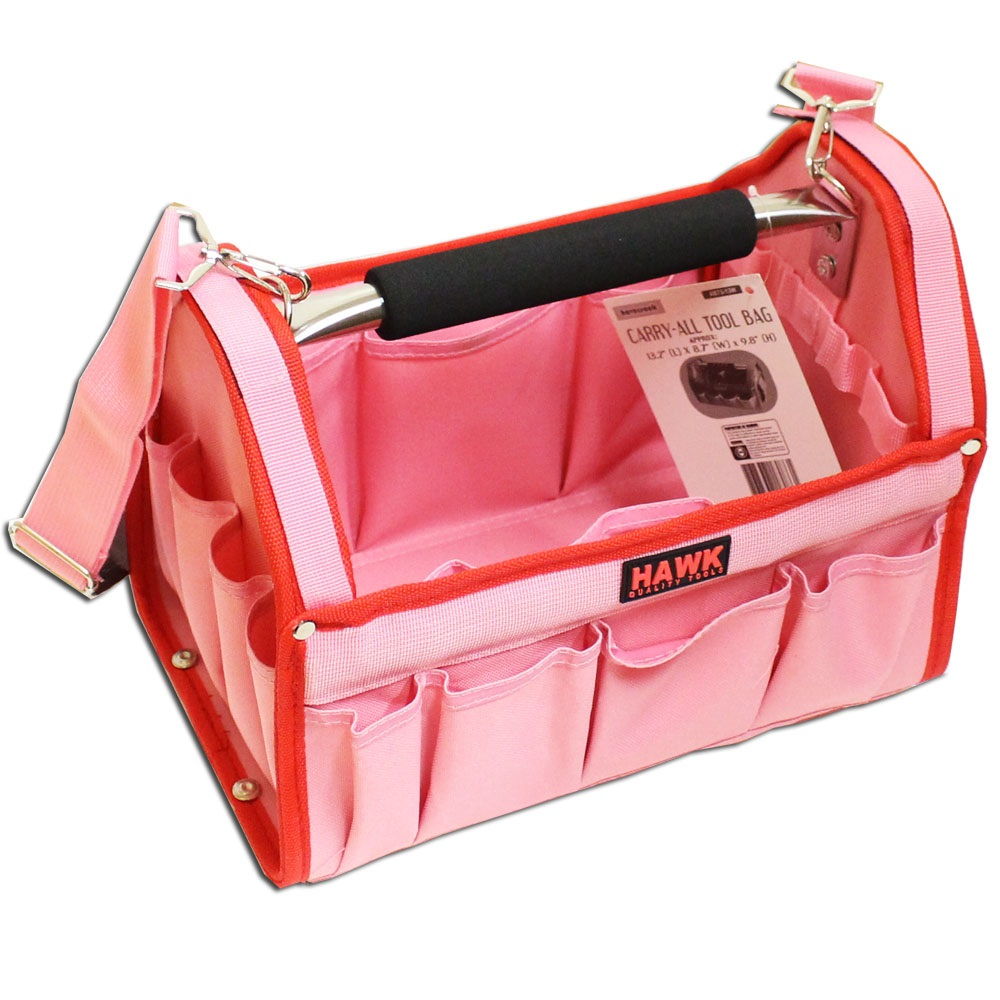 Pink color Tool Caddy Bag