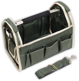 Olive Green Tool Caddy Bag