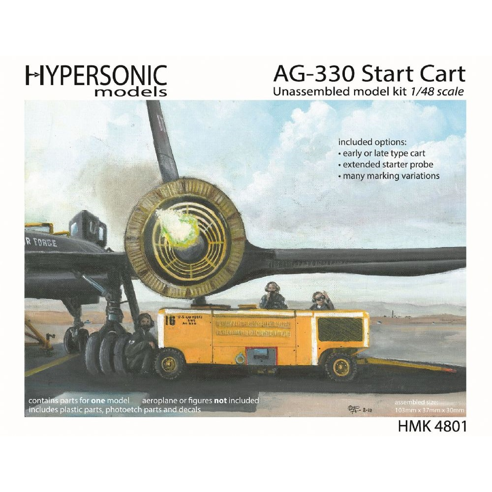 Hypersonic Models AG-330 Start Cart