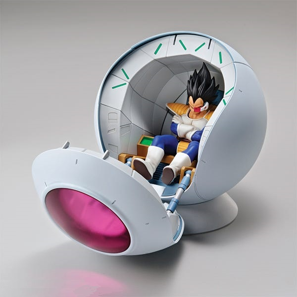Bandai Dragon Ball Space Pod