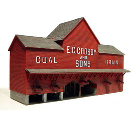 "Laser-Art Structures ""Crosby Coal"""