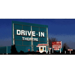Blair Line LLC™ Drive-In Theater