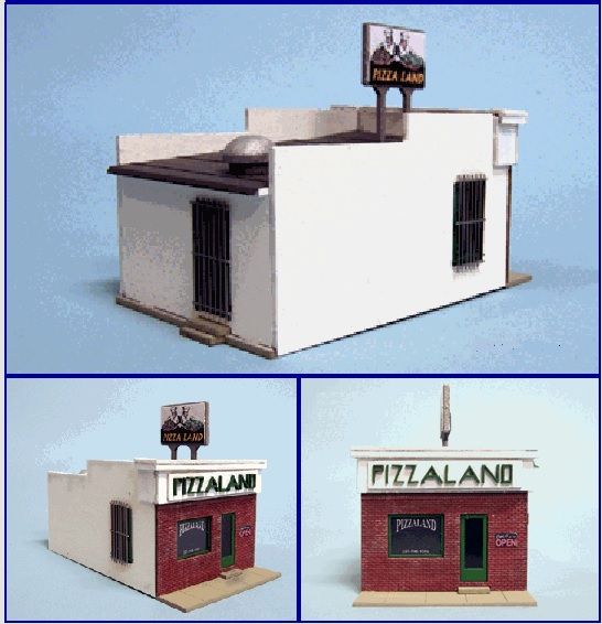 """Pizza Land"" Pizzeria O Gauge"