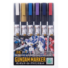 Mr.Hobby Gundam Marker Advanced Set