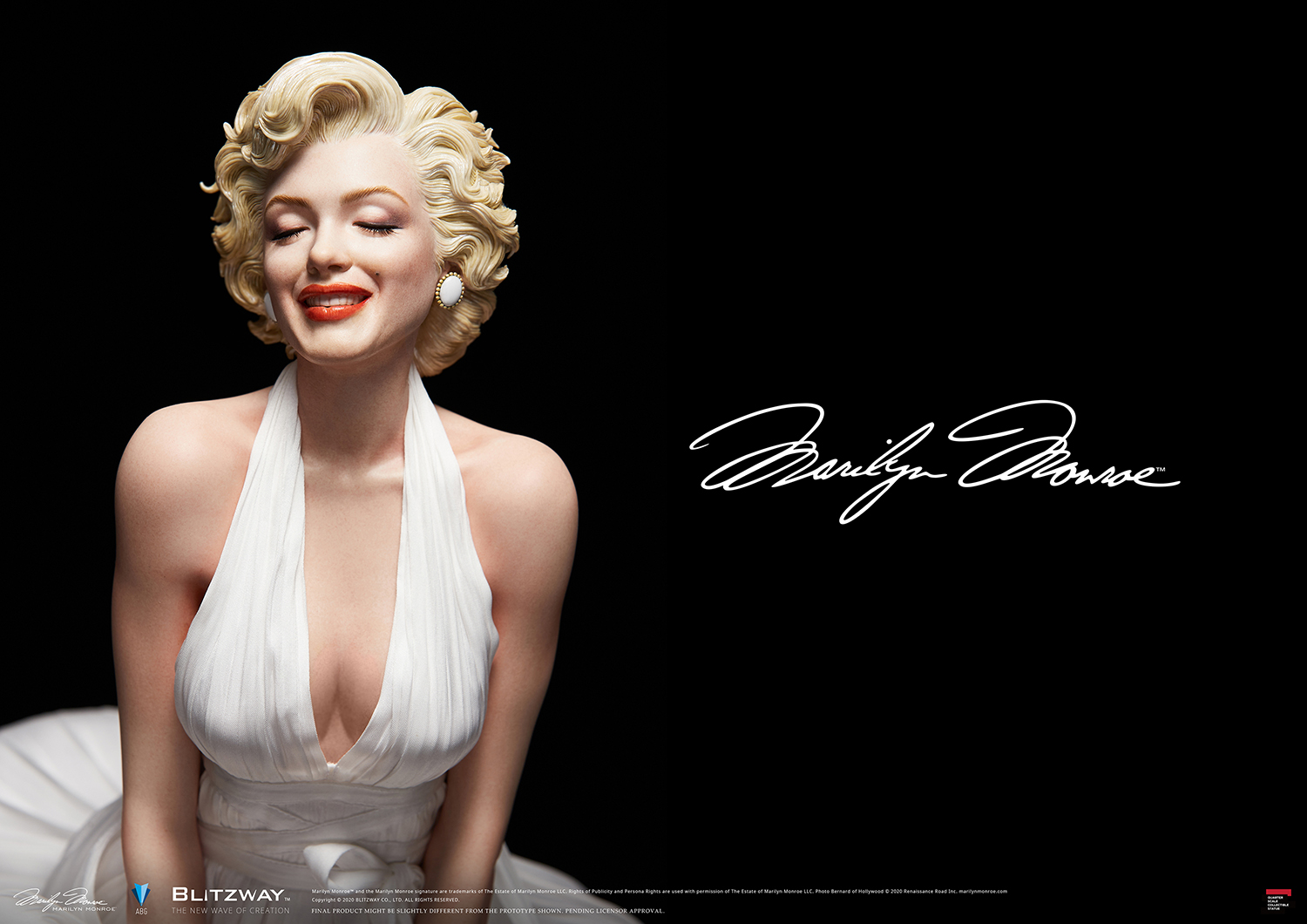"Blitzway™ 1/4 Scale ""Marilyn"""