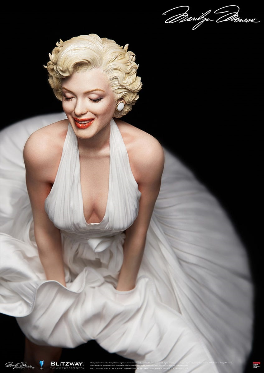 "1/4 Scale ""Marilyn"" by Blitzway"