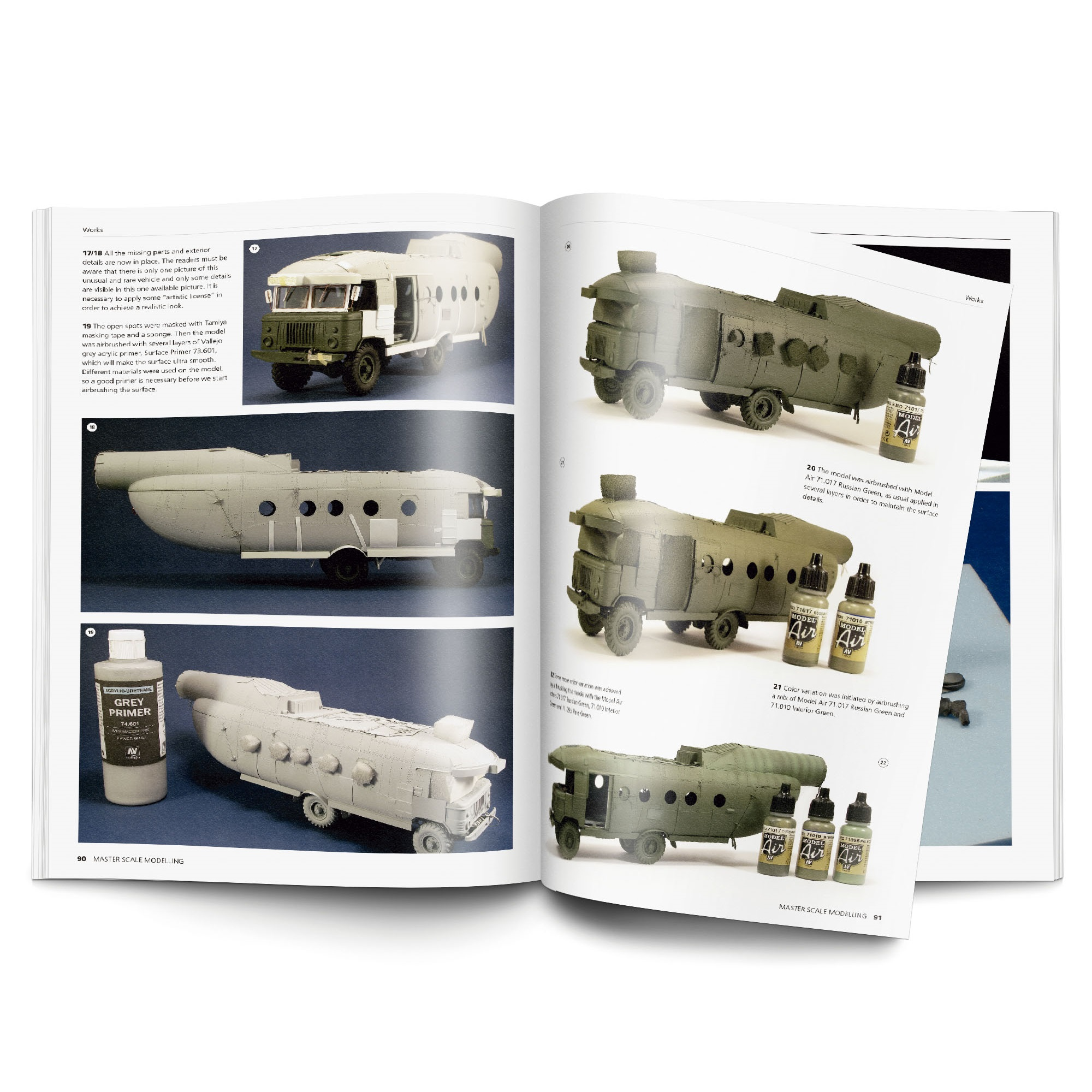 Master Scale Modelling Book
